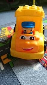 Mega block car