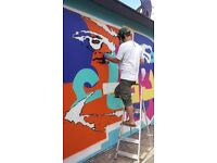 Highly skilled Mural Artists, Graffiti Artists and Street Artists