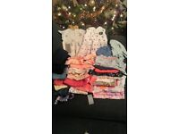 Bundle of baby girls clothes age 6-9 months