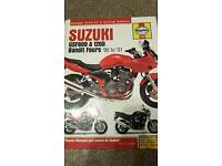 Suzuki gsf 600 1200 bandit haynes manual
