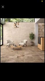 60m2 porcelain Floor / wall tiles
