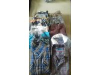bundle of boys clothes age 9