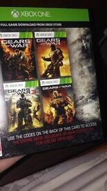 Gears of war collection code for Xbox one
