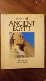 Atlas of Ancient Egypt - John Baines, Jaromir Malek - Time Life Hardback 1990 UK