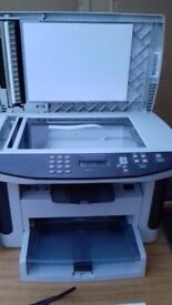 HP Laser Jet M1522N all in one printer / scanner / copier. Very good condition
