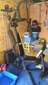 York multi gym good condition fully working