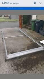 Transit mwb/swb heavy duty roofrack