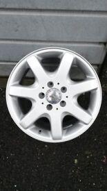 Mercedes SLK R170 16 inch alloy rear wheel
