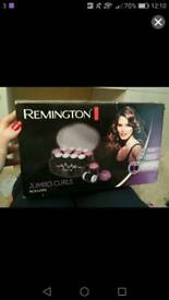 Remington heated hair rollers