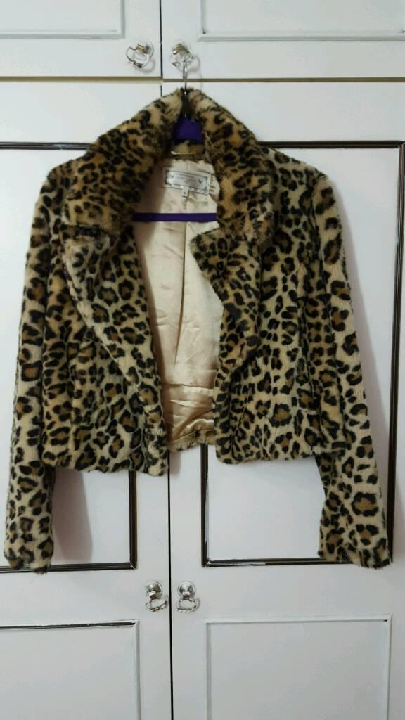 Winter fur jacket