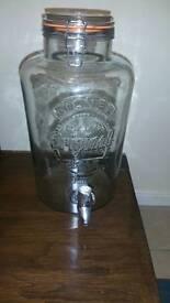 Drinks dispenser 8l 8 litre Kilner brand