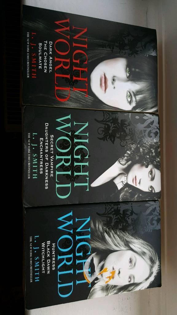 L J Smith night world books