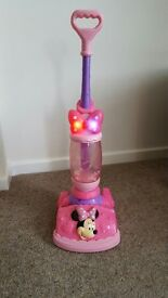 Toy Minnie Mouse Vacuum Cleaner