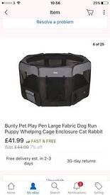 X Large indoor puppy pen