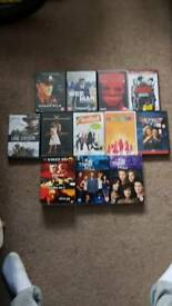 Dvds and box sets £2 eatch
