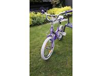 "Girls Giant Puddin bicycle 16"""