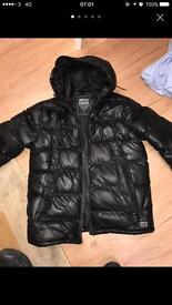 Supply&Demand Jacket/Coat Puffer Black ,Large (JD) was £70
