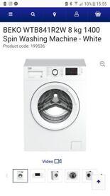 Brand new (unopened!) BEKO washing machine