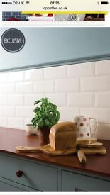 Cream Brick Effect Wall Tiles x 3 boxes Brand New