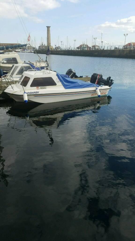 Fast fishing boat seahog