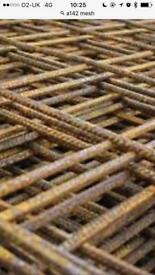 Concrete reinforcement mesh