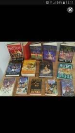 Terry Pratchett books
