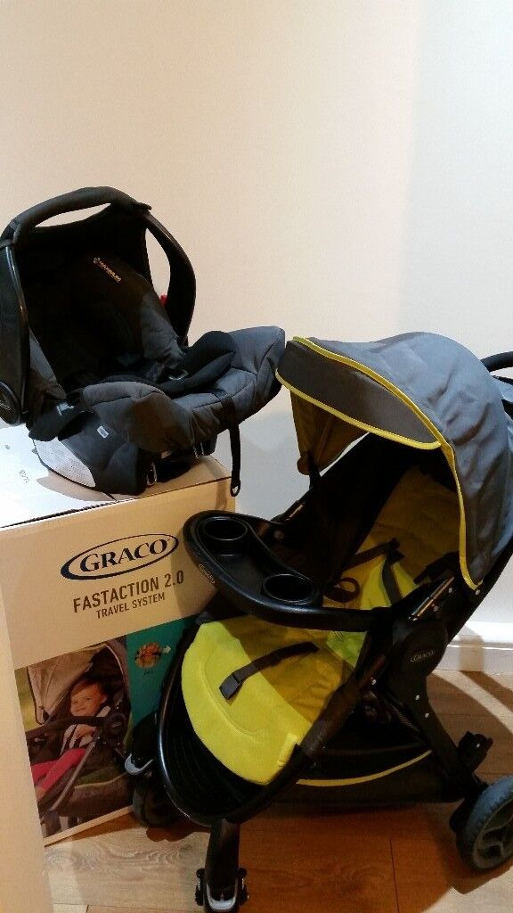pram and pushchair from Graco 70£