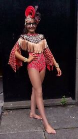 Freestyle dance competition costume
