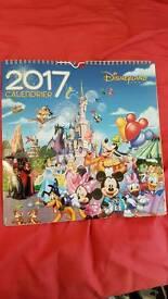 Disneyland 2017 Calendar