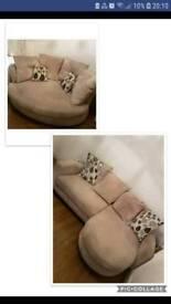 Dfs sofa set lshape cuddle corner sofa 3 2 4