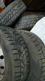 Tyres 235 - 65 - 16 x 1
