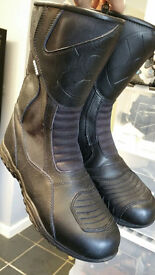 Oxford waterproof motorcycle boots size 9 uk mens