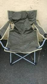 5 Folding Camping Caravanning Fishing Chairs.