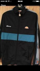 Ellesse zip up jacket size small