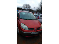 Breaking for SPARES Renault Scenic 1.9 dci 120 BHP 2003