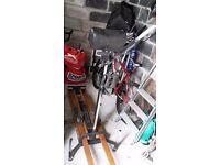 Nordictrack ski training machine