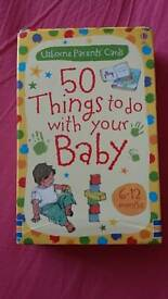 Parent Baby activity cards: 50 things to do with your baby