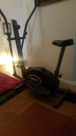 Home bicycle york3100,mag elliptical cross trainer