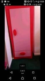 Solid pink single wardrobe