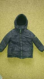 Boys padded winter coat 2-3 years