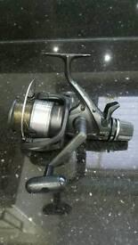 Shimano 6000re carp fishing baitrunner reel
