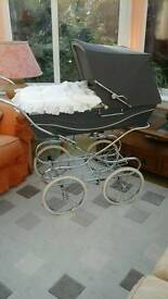 Silver Cross Carlton coach built baby pram