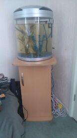 Fish tank aqua mode 300 & Stand