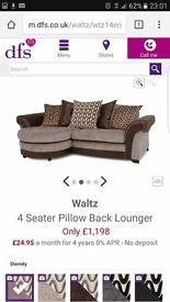Beautiful matching sofa and swivel chair