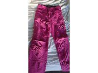 Protest ski/snowboard trousers - size small