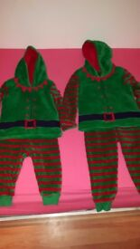 Elf Outfit / PJs - Great for Christmas!