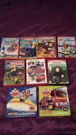 Fireman sam dvds and books