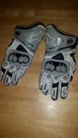 Alpinestars gp pro motorcycle gloves