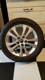 "17"" Alloy wheel from Kia Ceed + tyre"