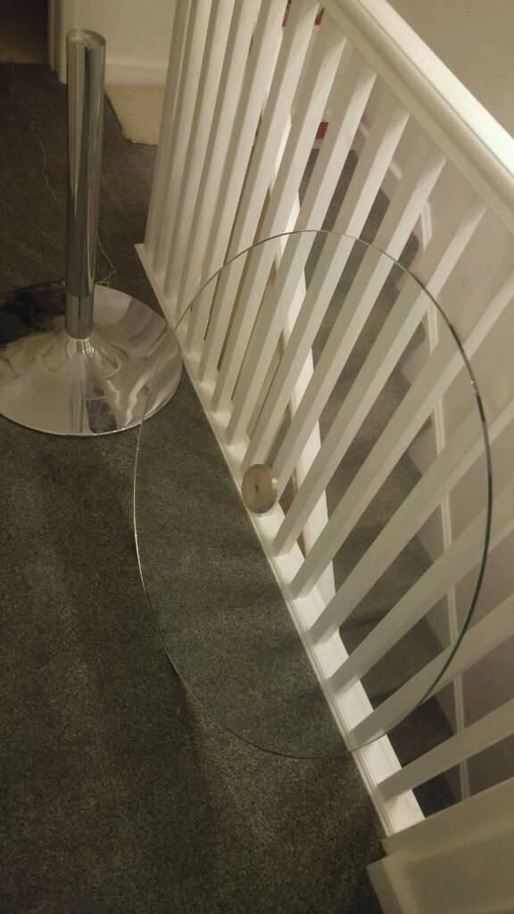 Dwell glass bistro table